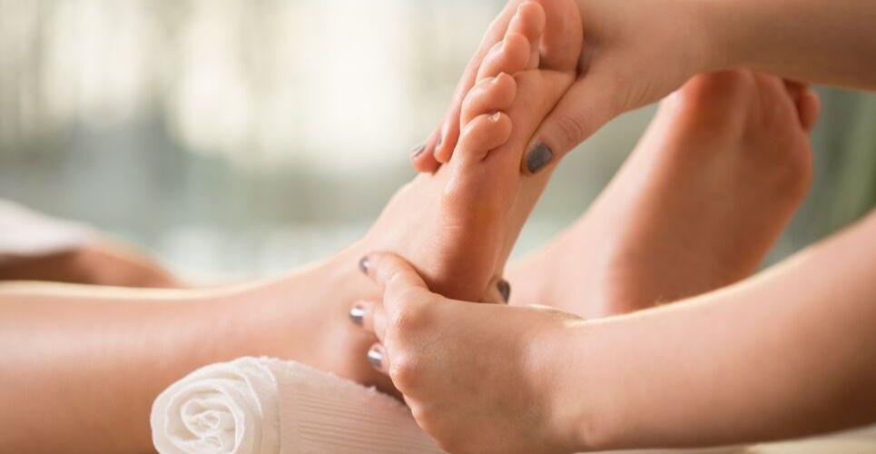 el arte del masaje de pies