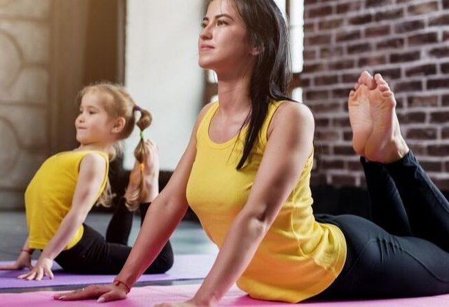 yoga para familias