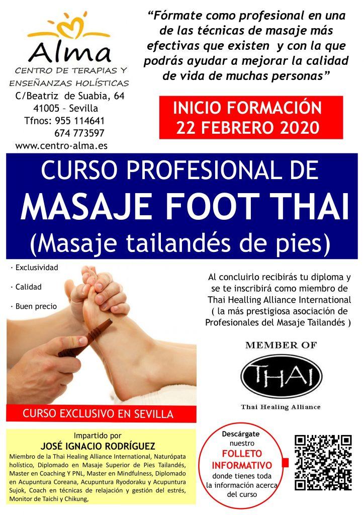 poster foot thai