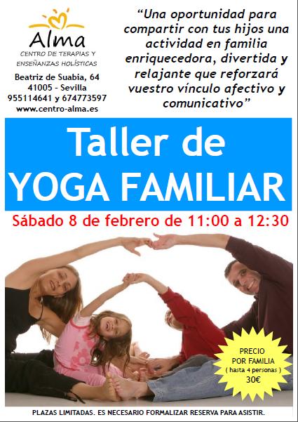 poster yoga familiar